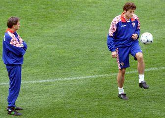 Ćiro Blažević i Davor Šuker (Foto: AFP)