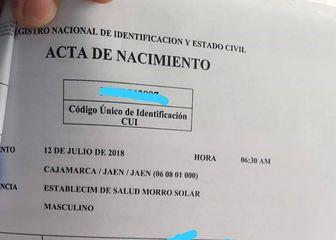 Obitelj iz Perua sina nazvala Luka Modrić (Screenshot Twitter)