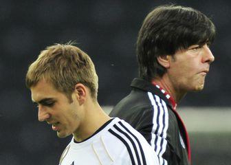 Joachim Löw i Philipp Lahm (Foto: AFP)
