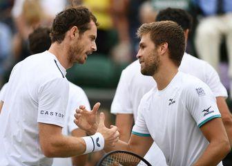 Andy Murray i Nikola Mektić (Foto: AFP)