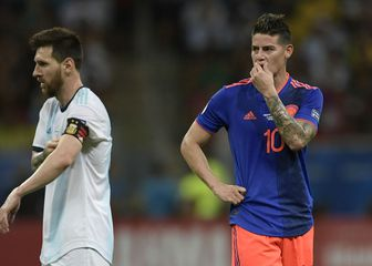 Lionel Messi i James Rodriguez (Foto: AFP)