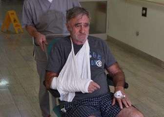 Evelino Vale, muškarac kojeg su napala trojica huligana u Puli (Foto: Dusko Marusic/Pixsell)