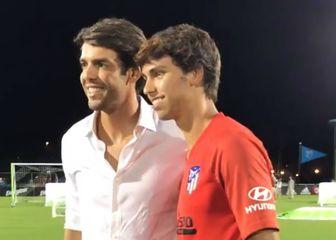 Kaka i Joao Felix (Foto: Screenshot)