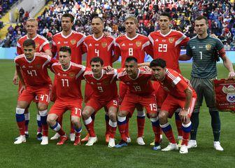 Momčad Rusije (Foto: AFP)