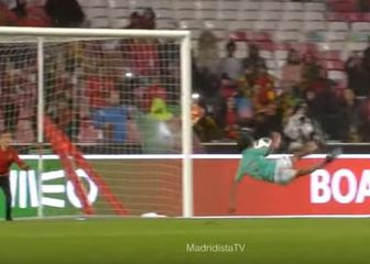 Cristiano Junior atraktivno zabija pogodak (Screenshot)