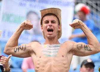 Navijač Urugvaja (Foto: AFP)