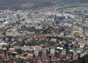 Panoramski pogled na Mostar (Foto: Ivo Cagalj/PIXSELL)