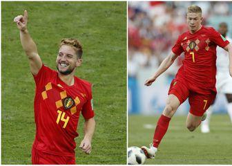 Dries Mertens i Kevin de Bruyne (Foto: AFP/GOL.hr)