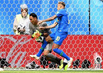 Keylor Navas protiv Neymara (Foto: AFP)