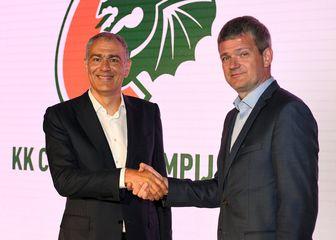 Emil Tedeschi i Tomaž Berločnik (Foto: KK Cedevita)