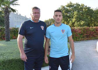 Nenad Gračan i Nikola Vlašić (Foto: Duško Marušić/PIXSELL)