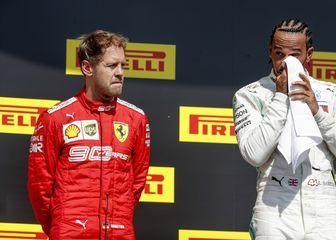 Sebastian Vettel i Lewis Hamilton (Foto: HOCH ZWEI/DPA/PIXSELL)