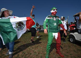 Navijači Meksika (Foto: AFP)