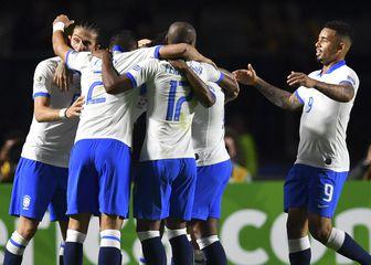 Slavlje Brazila (Foto: AFP)