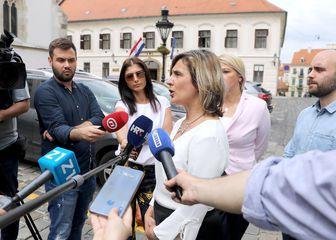 Konferencija za medije GI Narod odlučuje (Foto: Patrik Macek/PIXSELL)