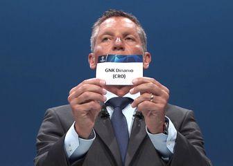 Ždrijeb Lige prvaka (Screenshot: UEFA.com)