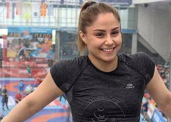 Hrvačica Iva Gerić (Screenshot)