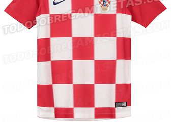 Novi dres hrvatske reprezentacije (Todosobrecamisetas.com))