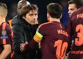 Antonio Conte protiv Barcelone (Foto: AFP)