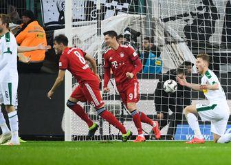 Borussia Monchengladbach - Bayern (Foto: INA FASSBENDER/DPA/PIXSELL)