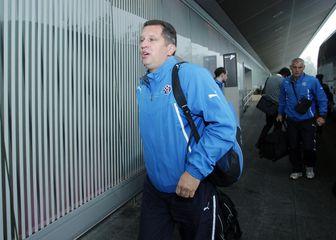 Cvitanović kao Dinamov pomoćnik (Foto: Goran Jakus/PIXSELL)