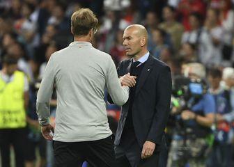 Jürgen Klopp i Zinedine Zidane (Foto: AFP)