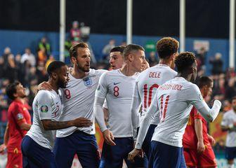Engleska slavi pogodak (Foto: AFP)
