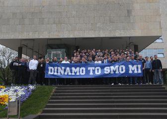 Udruga Dinamo to smo mi (Foto: Dalibor Urukalović/PIXSELL)