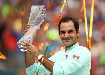 Federer osvojio Miami (Foto: AFP)
