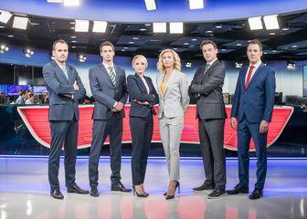 Sportska redakcija Dnevnika Nove TV (Foto: Nova TV)