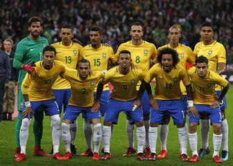 Brazilska nogometna reprezentacija (Foto: AFP)