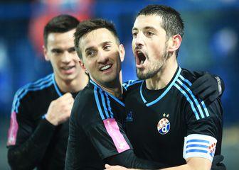 Arijan Ademi slavi pogodak Modrih (Foto: Davor Javorovic/PIXSELL)