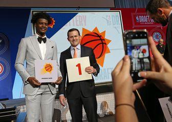 Josh Jackson iz Phoenixa i prvi pick na Draftu (Foto: AFP)