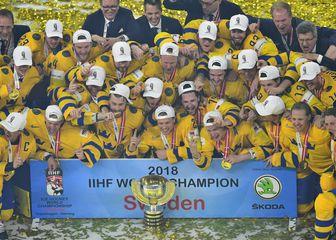 Švedski hokejaši (Foto: AFP)