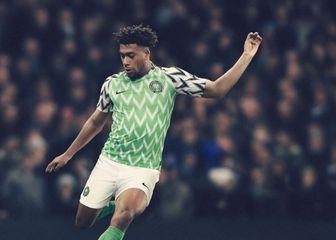 Alex Iwobi u dresu Nigerije (Screenshot)