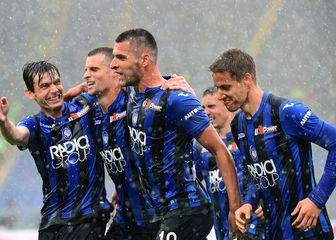 Atalanta slavi gol (Foto: AFP)