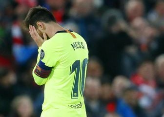 Lionel Messi u nevjerici (Foto: Darren Staples/Press Association/PIXSELL)