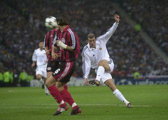 Zidaneova golčina protiv Bayer Leverkusena (Foto: Sven Simon/DPA/PIXSELL)