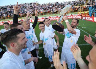 Riječani slave osvajanje Kupa (Foto: Igor Kralj/PIXSELL)