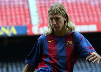 Maxi Lopez u dresu Barcelone (Foto: AFP)