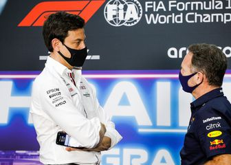 Toto Wolff i Christian Horner