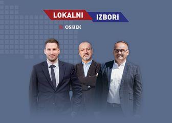 Izlazne ankete, Osijek
