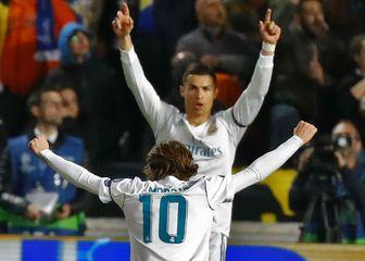 Luka Modrić i Cristiano Ronaldo (Foto: AFP)
