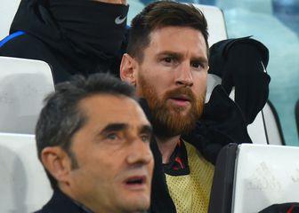 Lionel Messi i Ernesto Valverde (Foto: AFP)