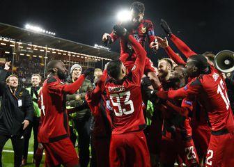 Igrači Ostersunda slave pobjedu (Foto: AFP)