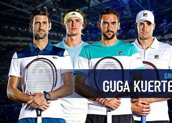 Marin Čilić u skupini Guga Kuerten (Screenshot ATP Twitter)