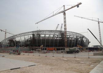 Izgradnja stadiona Al-Wakrah (Foto: AFP)
