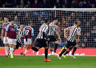 Slavlje igrača Newcastlea (Foto: Anthony Devlin/Press Association/PIXSELL)