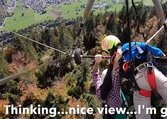 Hang-gliding (Foto: Screenshot/YouTube)