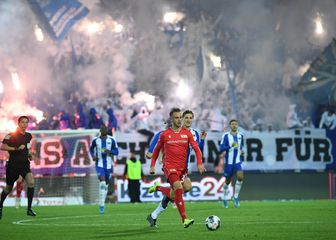 Union Berlin - Hertha (Photo: Britta Pedersen/dpa /DPA/PIXSELL)